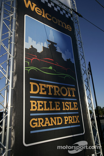 Welcome to The Raceway on Belle Isle