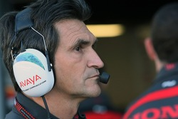 Jacky Eeckelaert, Honda Racing F1 Team, Chief Engineer ñ Advanced Research Programmes
