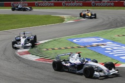 Nick Heidfeld, BMW Sauber F1 Team, F1.07 and Robert Kubica, BMW Sauber F1 Team, F1.07