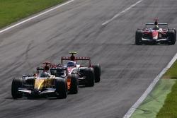 Giancarlo Fisichella, Renault F1 Team, Anthony Davidson, Super Aguri F1 Team