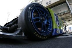 #76 Krohn Racing Pontiac Riley wheel detail