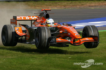 Adrian Sutil, Spyker F1 Team, F8-VII-B