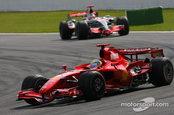 Felipe Massa, Scuderia Ferrari, Fernando Alonso, McLaren Mercedes