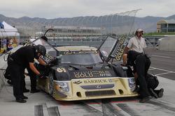 The #61 AIM Autosport Lexus Riley