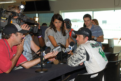 Hyper Sport press conference: racer and actor Patrick Dempsey