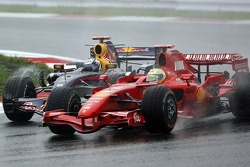 David Coulthard, Red Bull Racing, Felipe Massa, Scuderia Ferrari