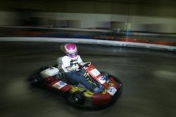 Kart racer Colbi Bradley