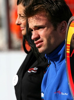 Nicolas Lapierre, driver of A1 Team France