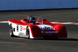 Chevron B19 1971: Schlesinger A, FR, with former world rally champion Jean-Claude Andruet
