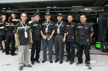 Kawasaki Racing guests
