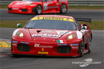#59 Advanced Engineering Ferrari 430 GT2: Rui Aguas, Maurizio Mediani