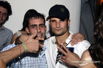 Vitantonio Liuzzi and guests