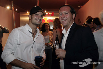 Vitantonio Liuzzi and a guest