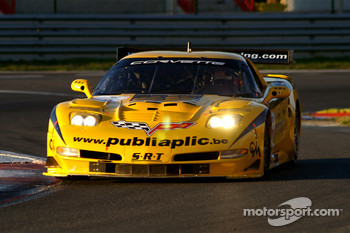 #18 Selleslagh Racing Team Corvette C5R: Tom Cloet, Maxime Soulet