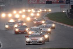 Trofeo Pirelli race 1: the start