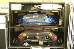 Speedy Racing Team garage area