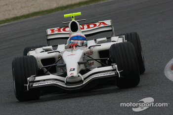 Anthony Davidson, Super Aguri F1 Team, Interim Chassis