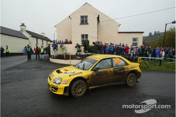Guy Wilks and Phil Pugh, Subaru Impreza WRC