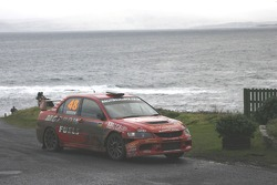 Philip Morrow and David Senior, Mitsubishi Lancer Evolution IX