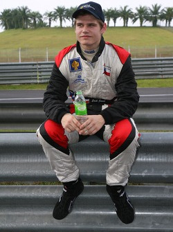 Erik Janis, driver of A1 Team Czech Republic