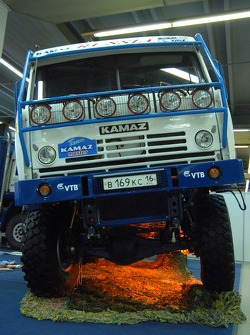 Kamaz-Master, Moscow Sport Motor Tuning Exhibition: the Kamaz 4326