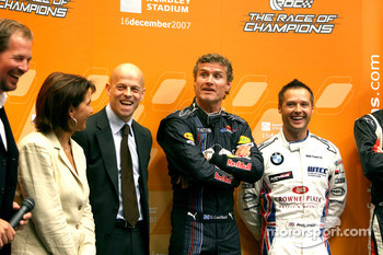 Jonathan Gregory, David Coulthard and Andy Priaulx
