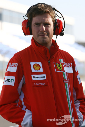 Rob Smedly,, Scuderia Ferrari, Track Engineer of Felipe Massa