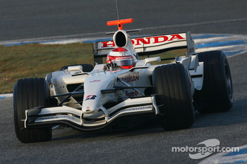 James Rossiter, Test Driver, Honda Racing F1 Team, Interim Chassis