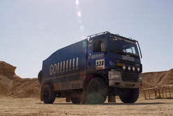 Team de Rooy in Tunisia: the GINAF X2222