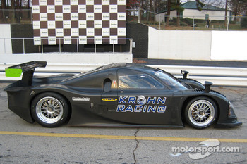 Nic Jonsson tests the Proto-Auto's new Lola Daytona Prototype