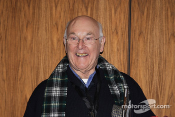 UK F1 motorsport commentator Murray Walker