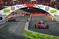 Quarter final 4: Michael Schumacher and Travis Pastrana