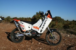 KTM: the Kaestle KTM 690 Rally of Frans Verhoeven