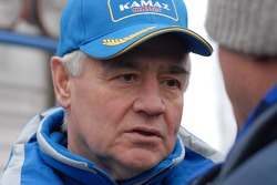 Kamaz-Master ceremonial start on the Red Square in Moscow: Semen Yakubov