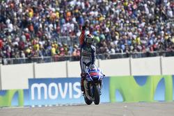 Winner Jorge Lorenzo, Yamaha Factory Racing