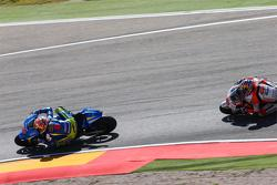 Maverick Viñales, Team Suzuki MotoGP and Jack Miller, Team LCR Honda