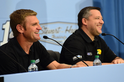 Clint Bowyer and Tony Stewart, Stewart-Haas Racing