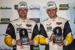 GTLM third place #3 Corvette Racing Chevrolet Corvette C7.R: Jan Magnussen, Antonio Garcia