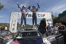 冠军贾里·马蒂·拉特瓦拉和米卡·安蒂拉,大众Polo WRC赛车,大众车队