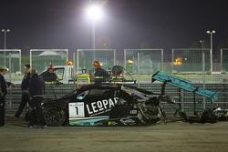 比利时奥迪WRT车队1号奥迪R8 LMS ultra:罗宾·弗林斯、劳伦兹·万索尔