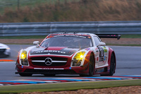 #10 Hofor Racing Mercedes SLS AMG: Kenneth Heyer, Christiaan Frankenhout, Sebastian Asch, Chantal Kroll, Michael Kroll