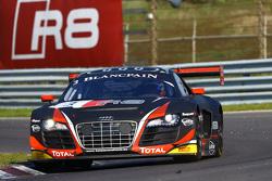 #3 Belgian Audi Club Team WRT Audi R8 LMS ultra: Stéphane Richelmi, Stéphane Ortelli