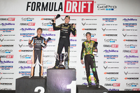 Formula Drift Photos - Podium: winner Fredric Aasbo, second place Ken Gushi, third place Forrest Wang