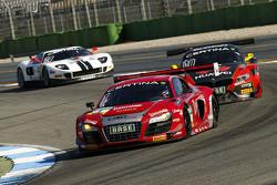 #1 C. Abt Racing Audi R8 LMS ultra: Kelvin van der Linde, Stefan Wackerbauer