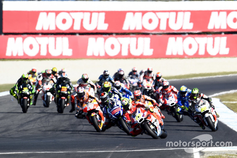 El inicio: Andrea Iannone, Ducati Team