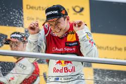 2nd Mattias Ekström, Audi Sport Team Abt Sportsline, Audi A5 DTM