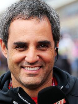 Juan Pablo Montoya, op de grid
