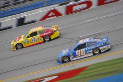 Michael Waltrip, Michael Waltrip Racing Toyota and Landon Cassill, Hillman Circle Sport LLC Chevrolet