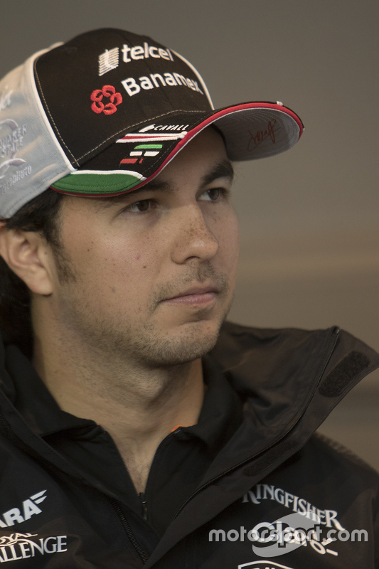 Sergio Pérez, Sahara Force India