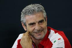 Maurizio Arrivabene, Scuderia Ferrari, teambaas